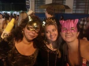 Raving at Cidade Baixa's Carnival